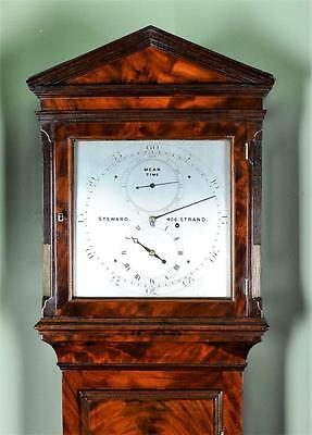 SMALL REGENCY REGULATOR LONGCASE CLOCK - Exquisite item