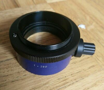 Carl Zeiss F250 f=250 Fine Focusing Objective for OPMI Surgical Microscope