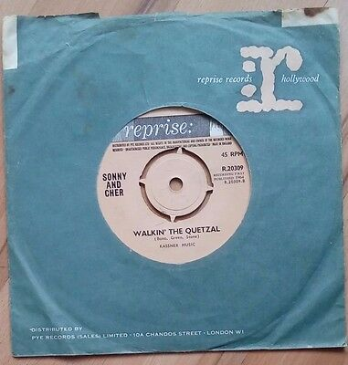 "Sonny and Cher - Baby don't go 7"" single,Reprise R20309,1964"