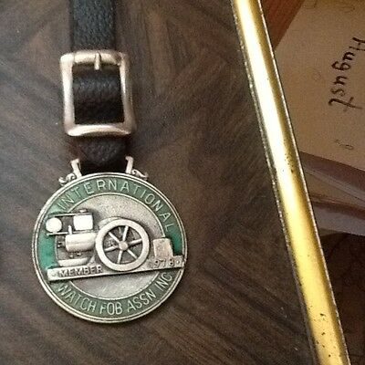 Vintage Antique old Pocket Watch Fob as shown 1978 lot 30A