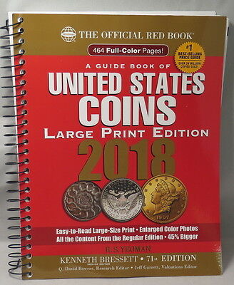 2018 Red Book, 71St Edition, Spiral Bound, Large Print Edition