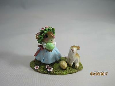 Wee Forest Folk Some Bunny to Love - New in WFF Box - Retired 2013