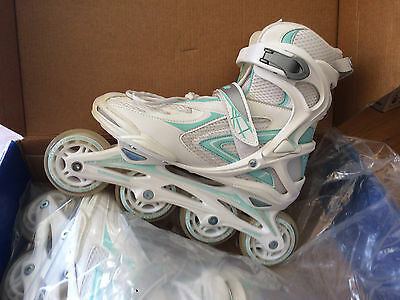 Rollerblade / Pattini Donna Goodyear MF 11 Lady n.38 colore Bianco / Celeste