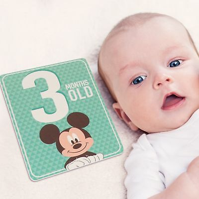 Disney Mickey Mouse Milestone Photo Sharing Cards Gift Set, Baby Boys, Age 0-12M
