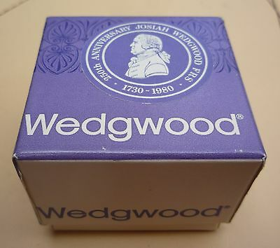 Boxed Josiah Wedgood 250Th Anniversary Jasperware Thimble