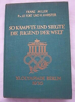 Orig.Book / Report   Olympic Games BERLIN 1936  -  Edt. A  !!  EXTREM RARE