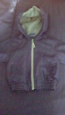 Boys navy blue raincoat 12-18 months from cherokee