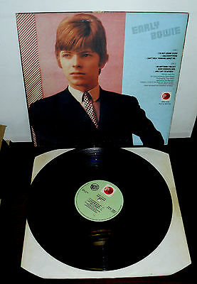 David Bowie   Lp Early Bowie   Made In  Italy   Best Buy  Prt- Rca - Prnl 31722