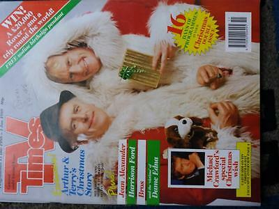 Christmas and New Year double issue Central  TV times 17 dec 1988 -jan 1st1989