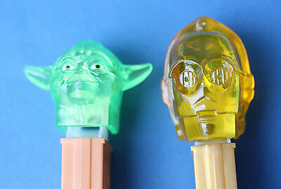 LOT of 2 Star Wars Pez Made in Hungary