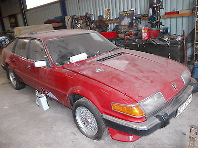 1983(Y) Rover 3500 Vitesse Sd1 For Restoration,manual Gearbox