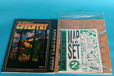 Battletech Map Set 2 + The battle of Coventry book scenario pack