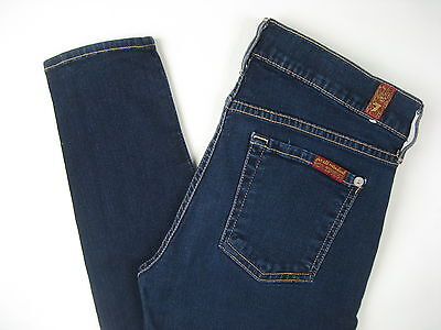 7 Seven For All Mankind Maternity Jeans The Skinny Stretch Size 28 Small