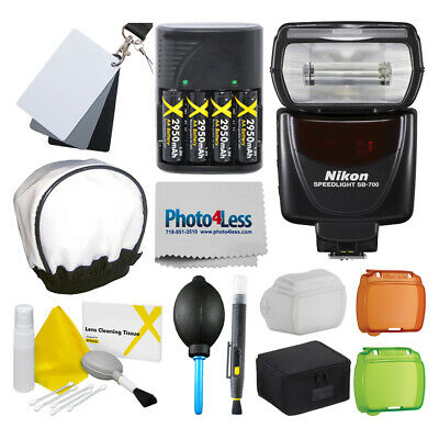 Nikon SB-700 AF Speedlight Flash for Nikon DSLR + More Top Value Accessory Kit!