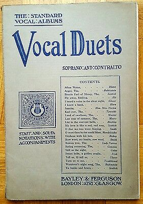 24 Vocal Duets for Soprano and Contralto (Voice/Piano Sheet Music Book)