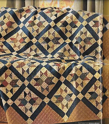 """Star Formation quilt kit 10 1/4 yards of fabric 74"""" x 88"""""""
