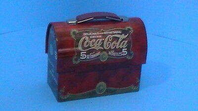 "Coca-Cola ""lunch Box"" Tin Collectable"