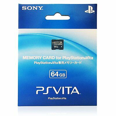 Sony PS Vita 64GB memory card, Playstation Vita