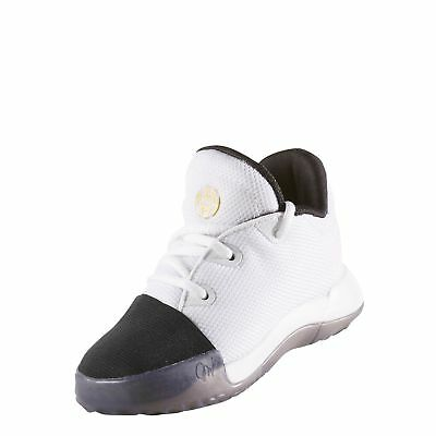 Adidas Harden Vol 1 Toddler White/Black/Gold Infant Shoes ( BY3674 )