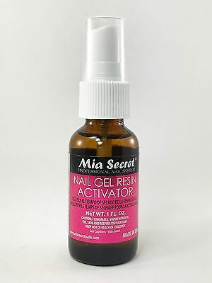Mia Secret Gel Resin Activator 1 oz-Dry Fast Spray for Acrylic Nail System (324)