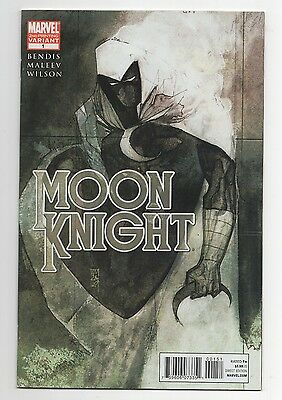 Moon Knight #1 (July 2011, Marvel) 2nd Print Variant! Maleev!