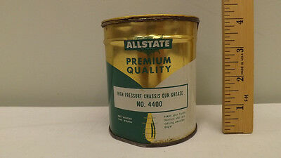 Vtg Sears Allstate High Pressure Chassis Grease Tin/Can NICE !!
