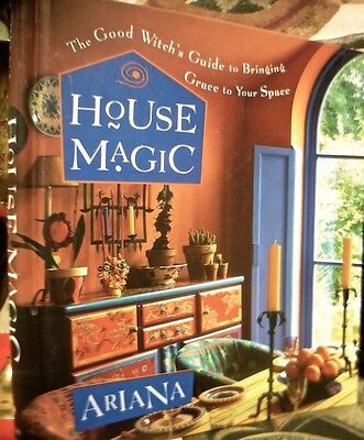 Ariana's Good Witch's Guide To House Magick ~ 1St Edn 2001 Hc ~ Occult * Wiccan