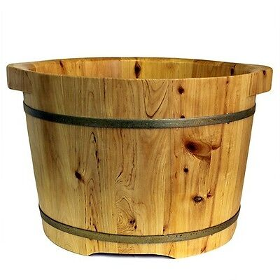 Foot Spa Tub - Standard Size Wooden.Made from Cedar wood.Natural & Insulating