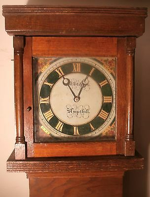 "Pine "" Ampthill ""  30 Hour  Longcase /grandfather Clock"