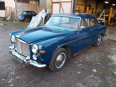 1964 Rover P5 3 Ltr Auto Mk 2 Saloon For Light Restoration,engine Runs