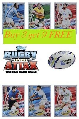 Topps Rugby Attax Trading Card Game 2015 ~ Individual Cards