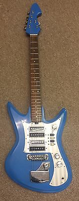"Vintage Teisco ""Sharkfin"" Model ET460 circa 1966 - 1970"