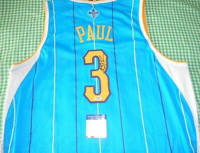 New Orleans Hornets Sewn Chris Paul Psa/dna Autographed Basketball Jersey Signed
