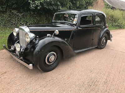 1947 Alvis Ta14 Saloon For Restoration,starts,drives& Stops,last Owner For 59Yrs