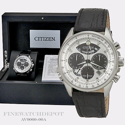 Authentic Citizen Eco-Drive Men's Calibre 2100 Chronograph Watch AV0060-00A