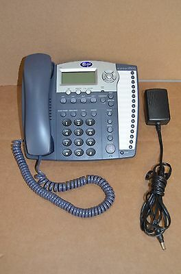 AT&T 4-Line Business Phone Model 974 with Power Supply & Stand