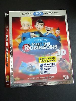 Meet the Robinsons 3D Blu-Ray Slipcover Sleeve (US) NO MOVIE SLIPCOVER ONLY