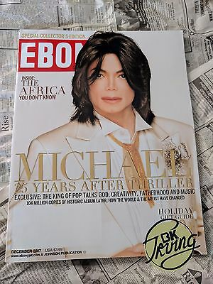Michael Jackson Ebony Magazine December 2007 (The Last Interview/Photo shoot) SE