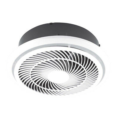 NEW Mercator Helix 35W White Round Exhaust Fan - BE3100TPWH