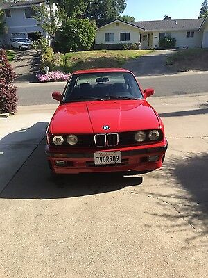 1989 BMW 3-Series E30 325Is BMW 325is e30