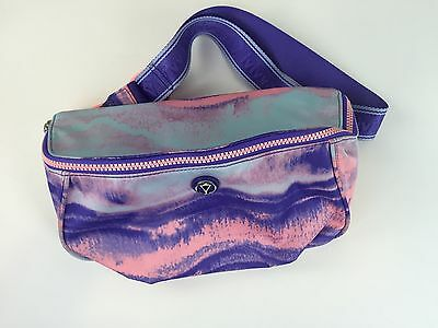 Ivivva Around About Bag Fanny Pack Aquamarine Power Purple NWOT