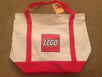 NEW Exclusive Lego Store Tote Bag Promotional Item NWT