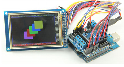 3.2 inch TFT LCD Touchscreen Module 320*480 for Arduino
