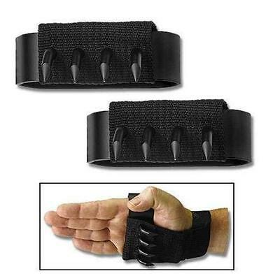 Outdoor Tools Climbing Heavy Duty Hand Claw Spikes Claws Paw Hooks Self Defense