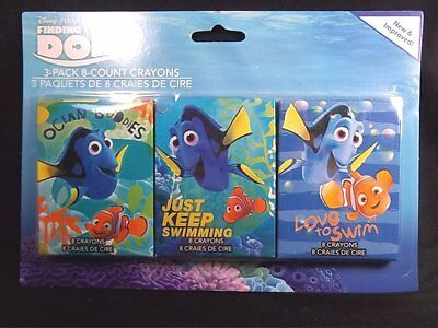 Finding Dory 3-Pack 8-Count Crayons