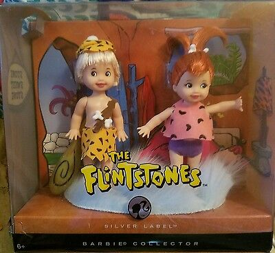 The FLINSTONES KELLY as PEBBLES and TOMMY as BAMM-BAMM Doll  Never Opened