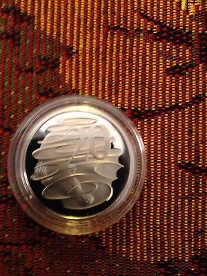 2016 20 cent proof changeover coin 50th anniv of decimal