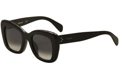 Celine Women's CL 41439/FS CL/41439/FS 807/W2 Black Sunglasses 49mm (Asian Fit)
