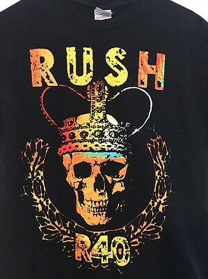 RUSH R40 2015 Tour T Shirt Size Medium