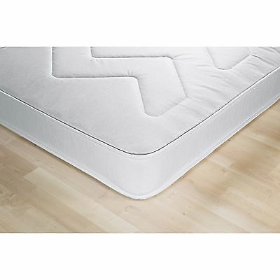 Airsprung Izzy Anti Allergy Single Rolled Mattress - White.